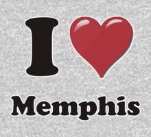 I Heart / Love Memphis by HighDesign