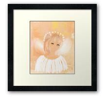 A PRECIOUS LITTLE ANGEL Framed Print