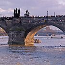 Charles Bridge by Keld Bach