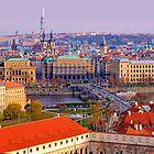 Postcard from Prague by Keld Bach