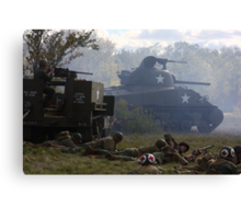 Fog of War Canvas Print