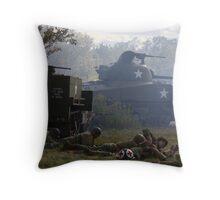 Fog of War Throw Pillow