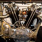 Antique Harley Davidson Motor by RoySorenson