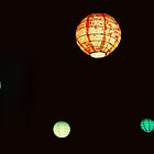 psychedelic light balls.. by Anirban Sarkar