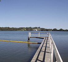 Croki Riverfront Wharf and Swimming Pool - Pano by Gary Kelly
