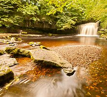 Clear Water at West Burton by Stephen Knowles