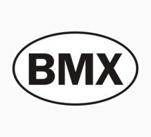BMX - Oval Identity Sign by Ovals