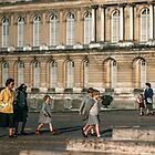 Visitors leaving Versailles 195709140036  by Fred Mitchell