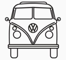 VW Wagon Front* Kids Clothes