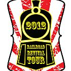 Railroad Revival Tour 2012 T-shirt Design by Matt Hagland