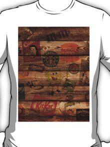 WOODEN WALL OF BRANDs T-Shirt