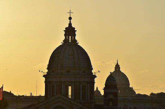 Domes of Roma by Brendan Buckley