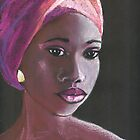 African beauty 4 by Elena Malec