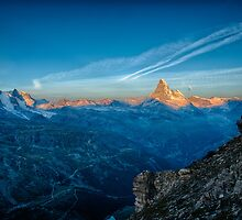 Matterhorn Sunrise by Tomas Abreu