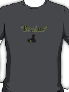 brains zombie funny halloween T-Shirt