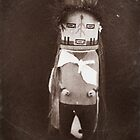 Indian Hopi - Navajo Doll by Carl  Onsae