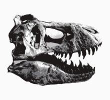 T-Rex Halfdot Skull Kids Clothes