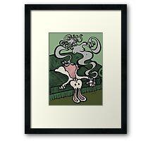 Teddy Bear And Bunny - Dream Girl Framed Print