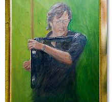 slowhand ( framed ) by Clint Smith