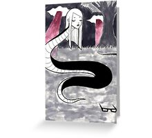 Snakes on A Plain Greeting Card