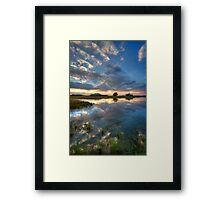Summers End Framed Print
