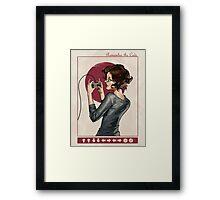 """Modern Ladies #1: """"Old School"""" Framed Print"""