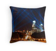 Philadelphia's Open Air Event Throw Pillow
