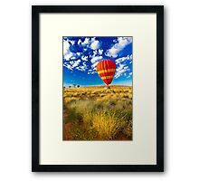 Alice and the Balloon Framed Print