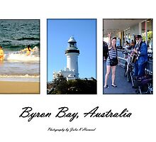 Byron Bay Panorama by Julia Harwood