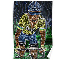 Yellow for Cadel Poster