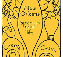 New Orleans Mardi Gras Card by springwoodbooks