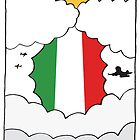 Emigrating To Italy Card by springwoodbooks