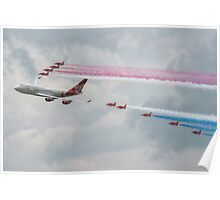 Virgin Atlantic & The Red Arrows Poster