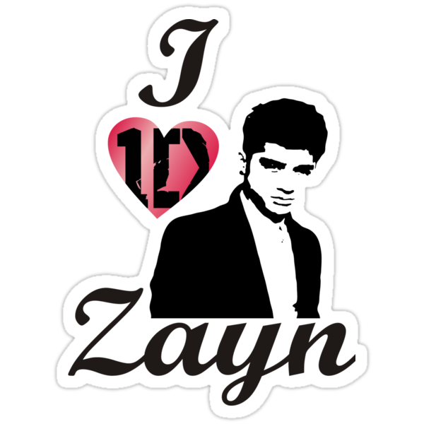 I Love Zayn Malik One Direction  by JamesChaffin