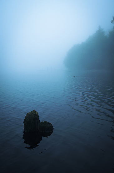 Misty Dawn at Loch Awe I by maekstar