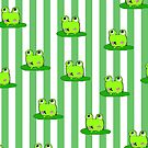 cute frog iPhone case by Zozzy-zebra