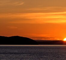 Puget Sound Sunset by Brian Harig