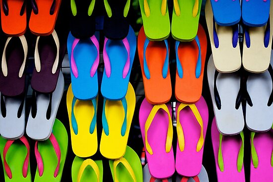 Flip Flops by Fern Blacker