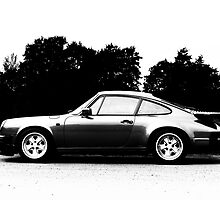 911 Silhouette by Chris Tarling