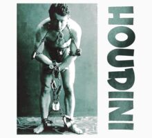 Harry Houdini in Chains by Chunga