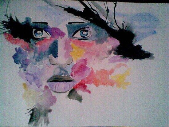 eyes,ink by digsarahdig