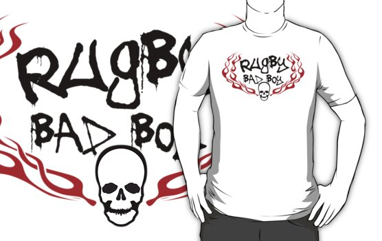 Rugby Bad Boy by SportsT-Shirts