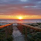 Aldinga Silver Sands Beach (Sunset) by sedge808