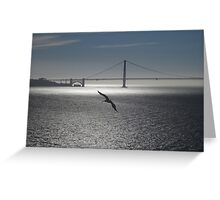 Tranquil Golden Gate Greeting Card