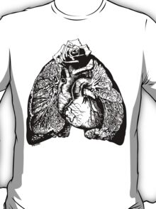 Lung Language - black T-Shirt
