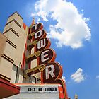 Route 66 - Tower Theater by Frank Romeo