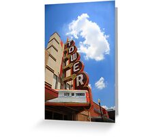 Route 66 - Tower Theater Greeting Card