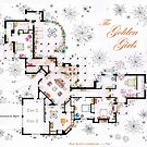 The Golden Girls House floorplan v.1 by Iñaki Aliste Lizarralde