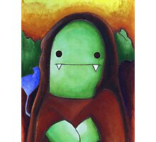 Monster Lisa (#001 of the Monster Imitates Art Collection) Photographic Print