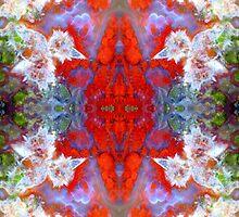 Birds Outside The Box (Red Lightning Agate) by Stephanie Bateman-Graham